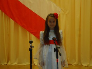 Michalina na podium 1