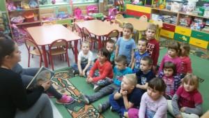 Rodzinne czytanie w przedszkolu 1