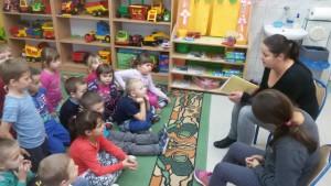 Rodzinne czytanie w przedszkolu 2
