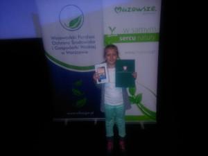Wyróżnienie w konkursie ekologicznym  2