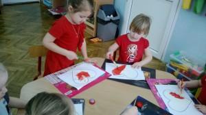 Przedszkolne Czerwone walentynki 3