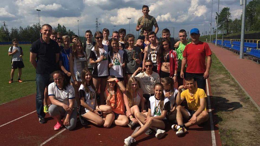 Królowa sportu zagościła w Gimnazjum w Krasnosielcu 2